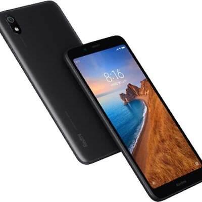 XIAOMI Redmi 7A 4G 16GB Dual SIM matte black NERO GARANZIA EU NO BRAND NUOVO