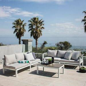 Outdoor Living Getaria L-Shaped Lounge Set Mount Waverley Monash Area Preview