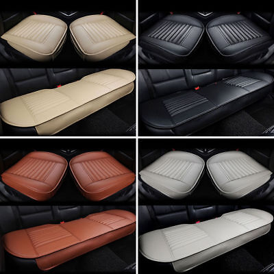 (Universal Car Seat Cover PU Leather 3D Breathable Pad Mat for Auto Chair Cushion)