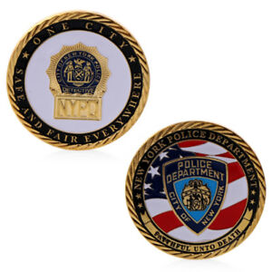 NYPD New York Police Challenge Coin Token Monnaie
