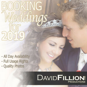 Wedding Photographer Taking Bookings for 2018/2019