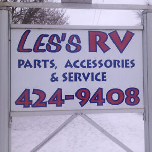 RV Travel Trailer Parts and Accessories