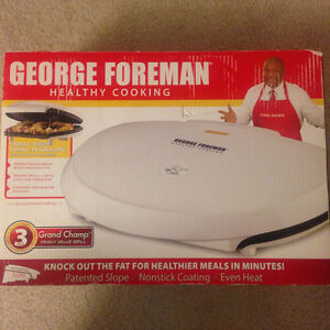 Family Sized George Forman Grill Kitchener / Waterloo Kitchener Area image 4