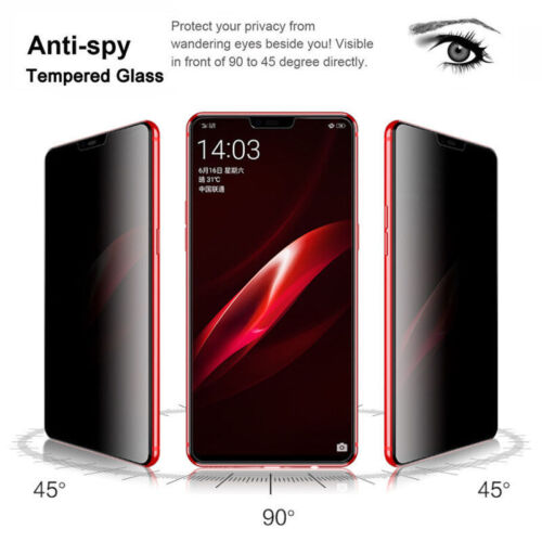For Huawei P20 Pro/Mate 10 Lite FUll Anti-Spy Privacy 9H Tempered Glass Guard