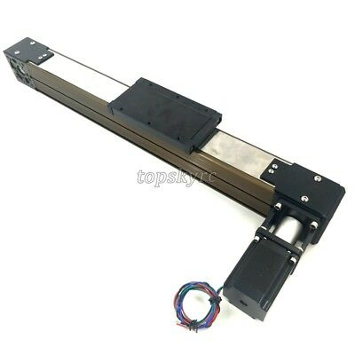 Cnc Linear Rail Electric Slide Table Cross Rail Slide System W Stepper Motor