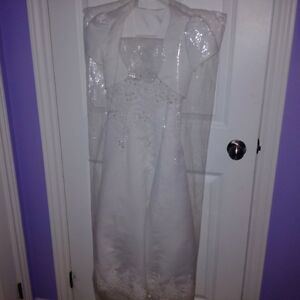 Communion Dress with Shoes, Gloves and Tiaras