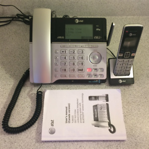 Corded/Cordless Telephone Answering System with Bluetooth