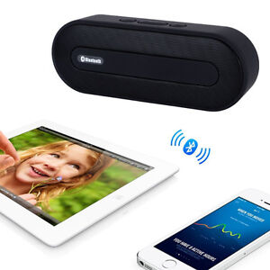 NEW Tianlang Portable Wireless Stereo Bluetooth Speaker (Black)