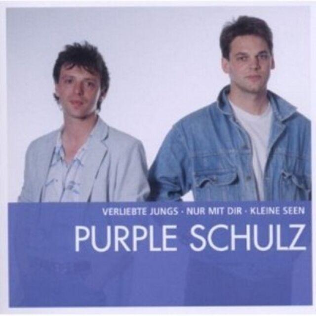 PURPLE SCHULZ - ESSENTIAL  CD 15 TRACKS DEUTSCH-POP  NEU