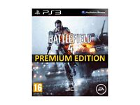 WANTED PS3 BATTLEFIELD 4 PREMIUM DISC