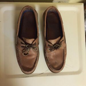Sperry - Tan Leather, lightly used Kitchener / Waterloo Kitchener Area image 3