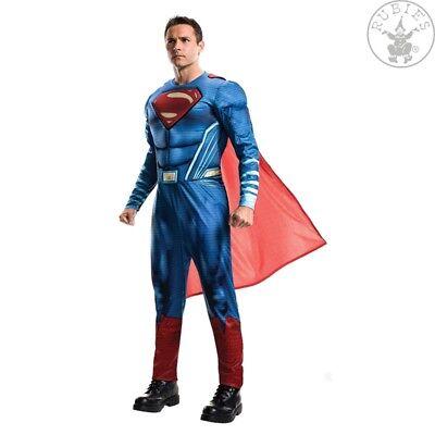 RUB 3820952 Superman Justice League Lizenz Kostüm Herren Overall und Cape STD XL