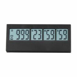 Digital Countdown Clock Lcd Screen Kitchen Count Event Reminder Cooking Alarm