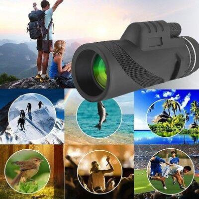 Mini HD 40x60 Monocular Optical Telescope for Bird Watching Hunting Camping US