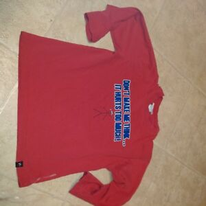Boys Size 8 Long Sleeve Red T-Shirt