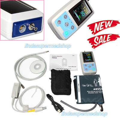 Contec Multi-functional Patient Monitornibp Spo2pr Blood Pressure Pm50 Newest