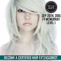 ILH Hair Extension Academy Level I training - SEP 20 FT McMURRAY