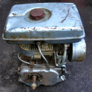 Gas engine 4hp works good