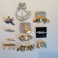 Funky Brooches