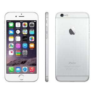 I PHONE  6  32 AND 64 GB SILVER COLOR  MINT CONDITION   UNLOCKED