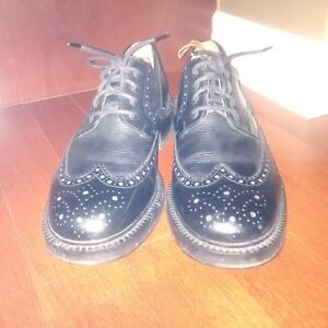 Kenneth Cole - Black Brogue - Gently Worn