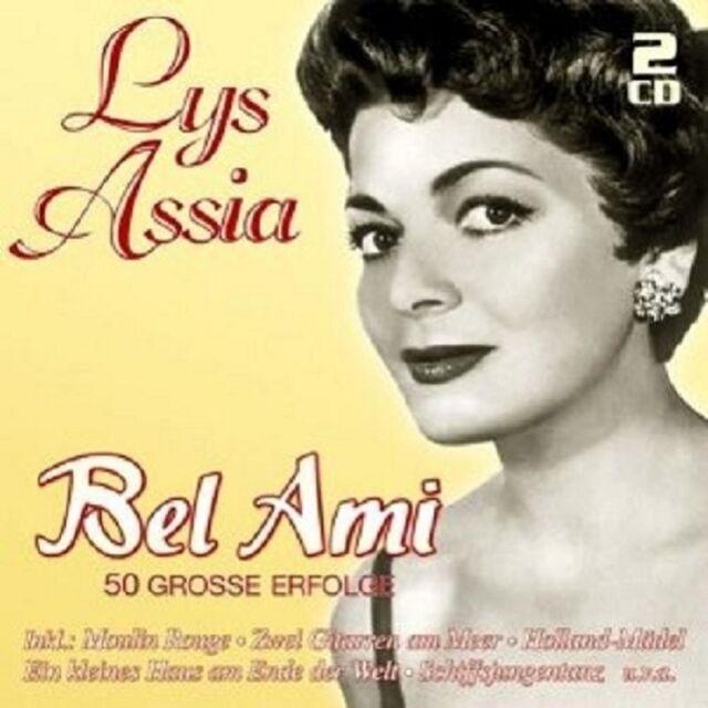 LYS ASSIA - BEL AMI-50 GROßE ERFOLGE 2 CD NEU