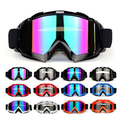 Motorcycle Motocross Race Goggles Off-road MX ATV UTV Dirt Bike Quad Trail Rider Road Race Motorcycle