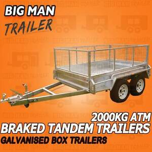 ♠10x6 road-rollerSuspension TrailersCaged Tandem♠ Chadstone Monash Area Preview