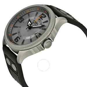 Brand New - Men's Fossil Black Leather Watch