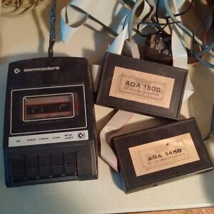 Commodore (PET?) datassette and 2 printer interface