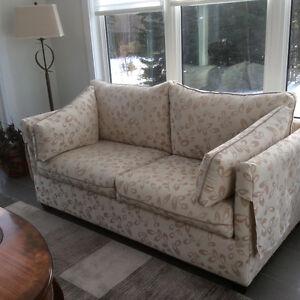 Sofa lit et chaise
