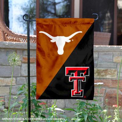House Divided Garden - Texas vs. Texas Tech House Divided Garden Flag Yard Flag