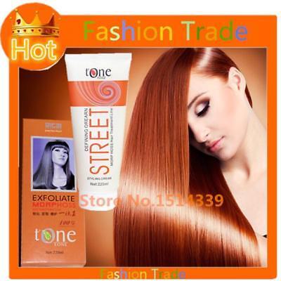 2Pcs Japanese Hair straightening Relaxer Cream brazilian keratin treatment