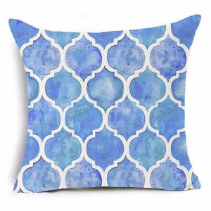 NEW 4 x Hamptons Moroccan Trellis Cushion Cover Pillow Home Decor Atwell Cockburn Area Preview