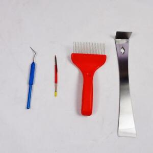 Honey Knife Shift Insect Needle uncapping fork Beekeeping Tool # 170473