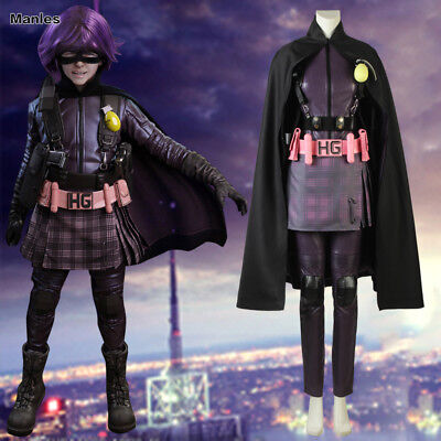 Kick Ass Mindy Macready Costume Cosplay Hit Girl Halloween Carnival Anime Outfit - Hit Girl Costumes
