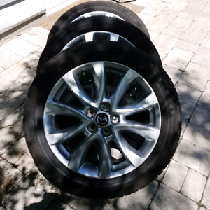 Mazda Radial Tires w/rims