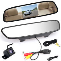 4.3'' Car Rear View Mirror Monitor +cmos Waterproof Night Vision Reverse Camera - does not apply - ebay.co.uk