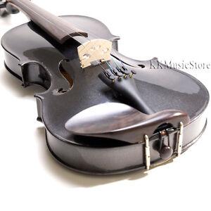Cecilio CVN-300 Ebony Fitted Black Violin