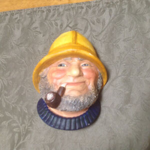 5 English Chalkware Heads by Legend Products of England. St. John's Newfoundland image 4