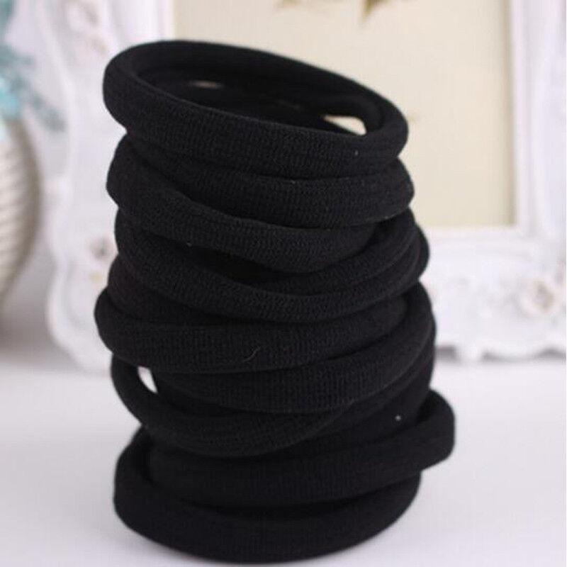 Useful 10x high elastic hair ties seamless band rope ponytai