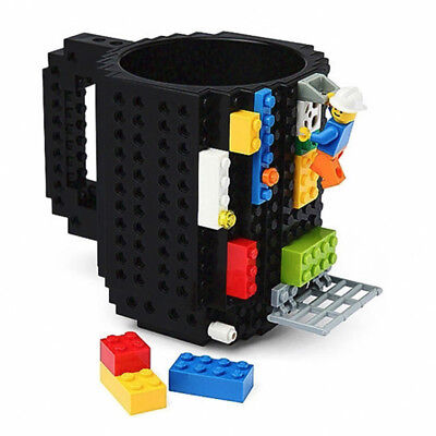 DIY Creative Lego Mug Building Blocks Coffee Cup Block Puzzle Mug 12oz - Diy Mugs