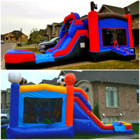 Commercial Wet/Dry Bouncy Castles