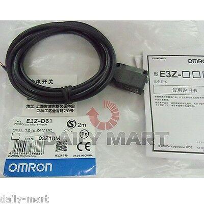 Omron E3z-d61 E3zd61 Photoelectric Switch New Free Ship