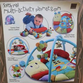 Baby playmat & gym