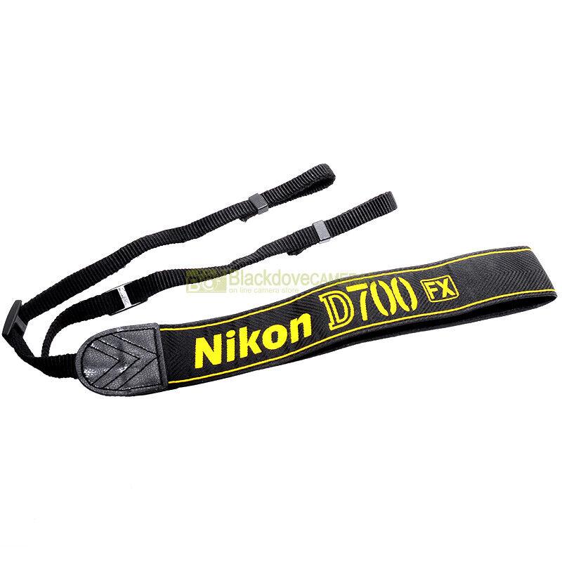 Nikon AN-D700 Tracolla originale per fotocamera digitale D700. D-700 strap.