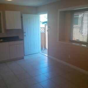 Clean and Bright 1 Bedroom ground level suite in newer home