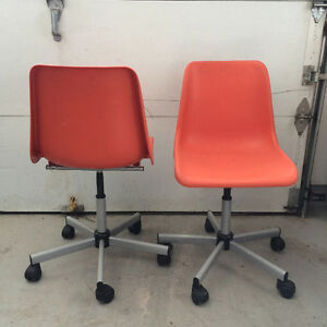 Student Swival Adjustable Chair on wheels ( Ikea  )