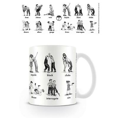 The Umbrella Academy Defence and Dominate Mug Coffee Tea Cup Ceramic ()
