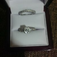 platinum engagement ring custom made apraisal 18000.00 reduce